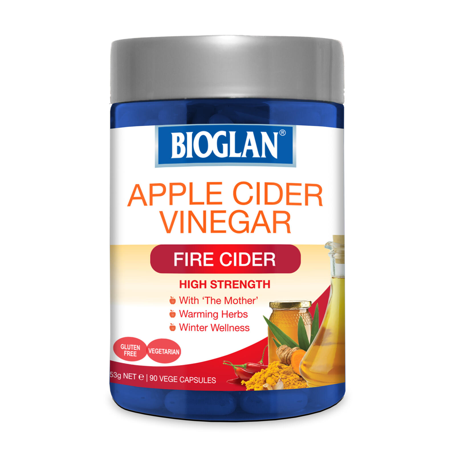 Buy Bioglan Apple Cider Vinegar Fire Cider 90 Capsules | Liver & Detox, Vitamins | Online