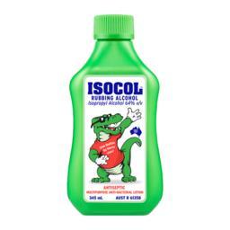 Isocol Antis Rub Alcohol 345ml | Chemist Perth - Wizard