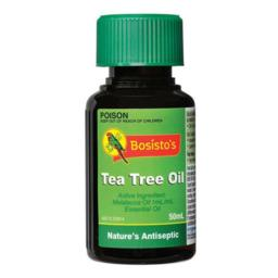 Bosistos Tea Tree Oil 50ml | Chemist Perth - Wizard Discount